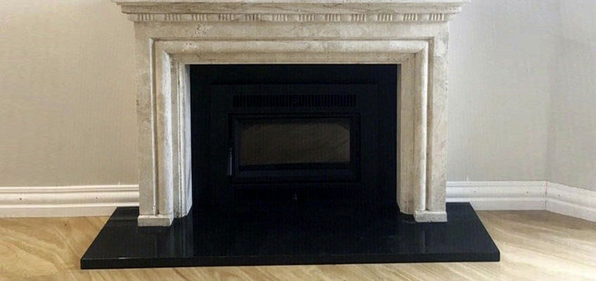 Marble Fireplace by Aurora Stone