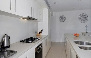 Raffles Kitchen Benchtops - Aurora Stone