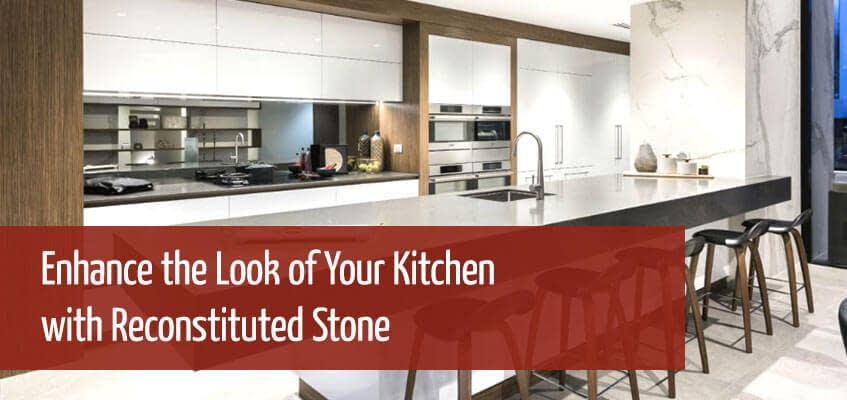 Reconstituted Stone for your Kitchen