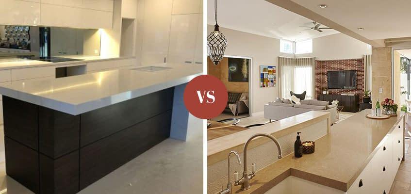 Light vs Dark Countertops