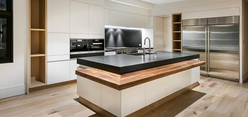 Black Granite Countertops by Aurora Stone