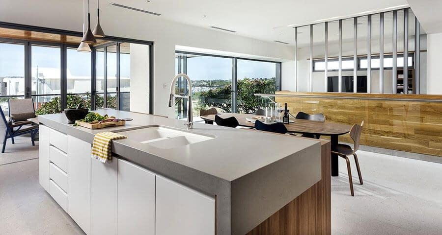 Kitchen Countertop by Aurora Stone