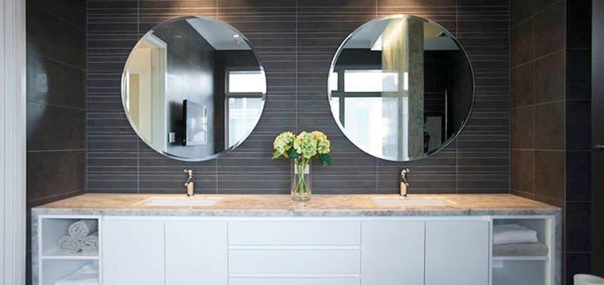 Spa-like Bathroom using Natural Stone