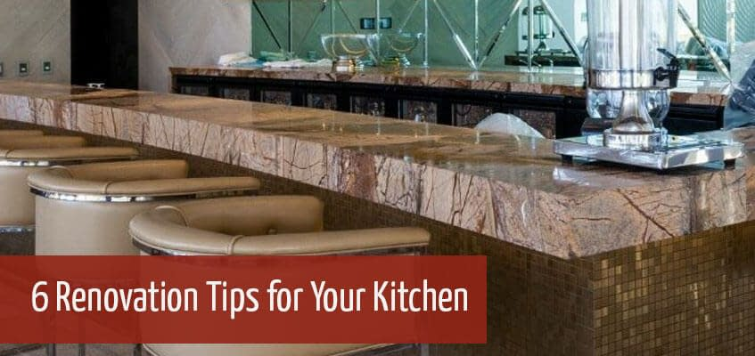 Renovation Tips for Your Kitchen