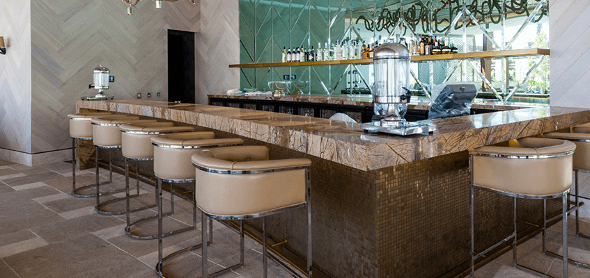 Natural Stone Surface for Restaurants and Bars