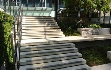 Tiled Stairs - Aurora Stone