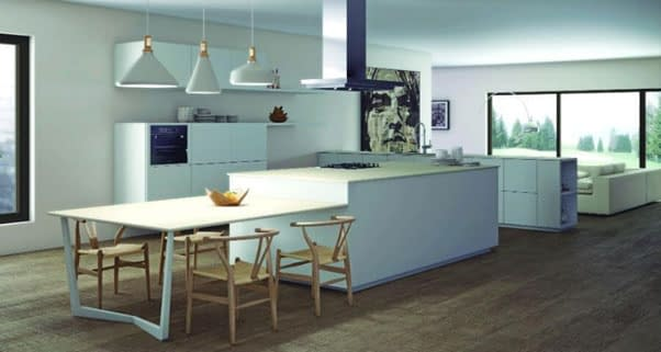 Porcelain Benchtops Perth by Aurora Stone