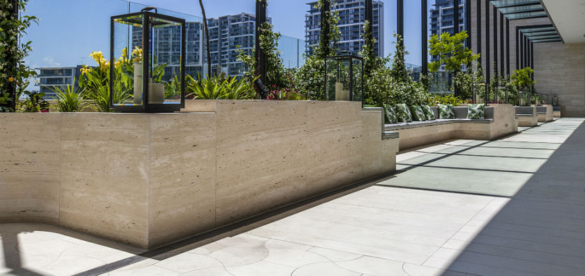 Natural Stone Flooring by Aurora Stone